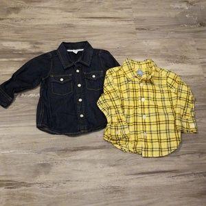 Bundle of Gap Button Down Shirts